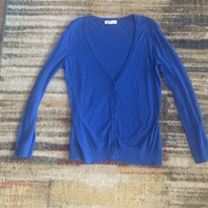 Forever 21 Sweaters - Forever 21 R Royal Blue Cardigan